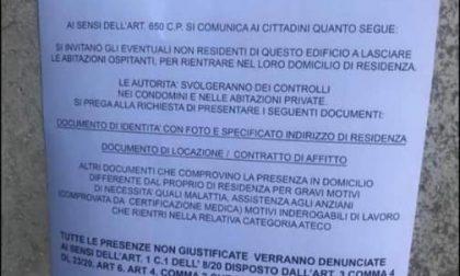 Il volantino del Ministero dell'interno che invita a lasciare le abitazioni è un falso