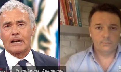 """Giletti duro contro Renzi in diretta tv: """"Chiedete dimissioni di Lagarde"""" VIDEO"""