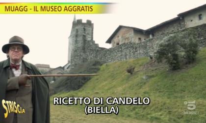 """Ricetto di Candelo su Striscia la Notizia: """"Vale la pena vederlo"""""""