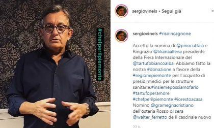Chef Vineis: «State a casa e donate per ospedali se potete». E regala la sua ricetta del riso in cagnone VIDEO