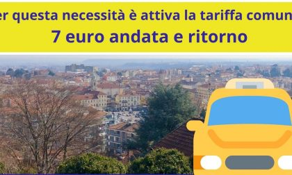Servizio Taxi Over 65 a 7 euro per chi deve ritirare la pensione in posta o banca