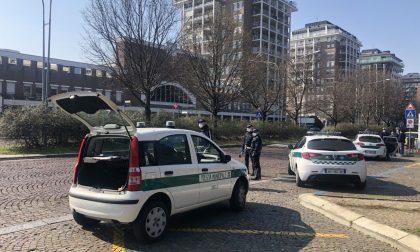 Coronavirus: Polizia locale intensifica attività, stamane oltre 100 controlli FOTO