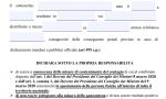Autocertificazione obbligatoria, scarica e stampa