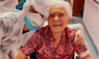 Nonna Ada è la più anziana d'Europa ad aver sconfitto il Coronavirus