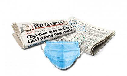 OGGI una mascherina in regalo con Eco di Biella