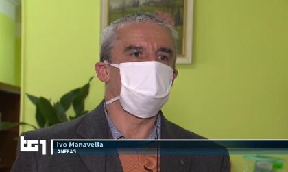 Troupe Tg1 a Biella per il coronavirus nelle strutture speciali – IL VIDEO