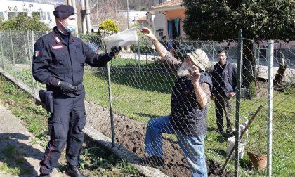 Consegnate dai carabinieri le mascherine agli anziani delle frazioni più isolate