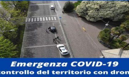 """Un drone sorvola Biella a caccia di furbetti. """"Lo utilizzeremo anche nei prossimi giorni"""" – VIDEO"""