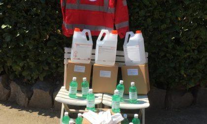 Il circolo Pd di Cossato ha raccolto fondi per la Croce Rossa