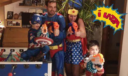 La famiglia Lazza, star del web
