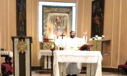 La prima messa post Covid-19 è stata celebrata in una struttura del comune