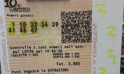 Gioca tre euro e ne vince 5mila