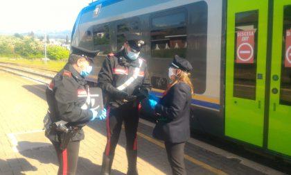 Telefono dimenticato sul treno recuperato grazie ai carabinieri