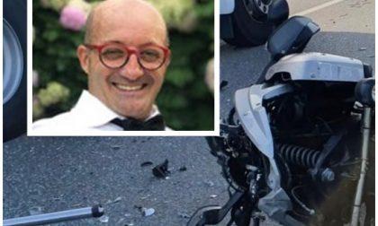 Addio al commerciante di Biella morto nello schianto in moto