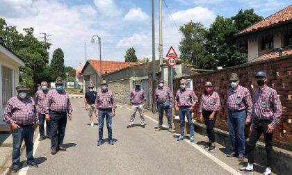 Cossato, Alpini in campo per distribuire oltre 14mila mascherine