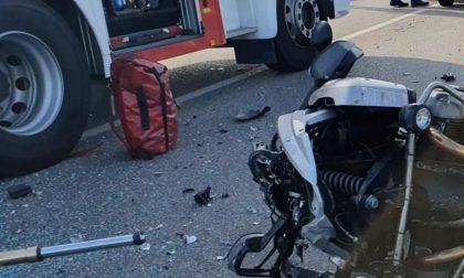 Schianto con un'auto: motociclista biellese morto era Pierfranco Valsecchi
