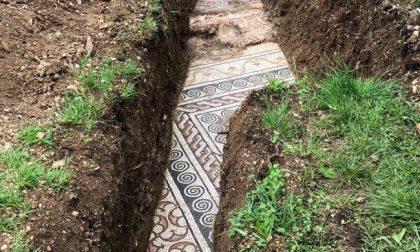 Da sotto la vigna spunta il mosaico di un'antica villa romana
