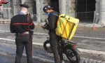 Food delivery, i controlli dei carabinieri IL VIDEO
