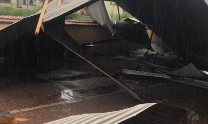Disastro a Gaglianico, tromba d'aria scoperchia tetto dell'oratorio VIDEO