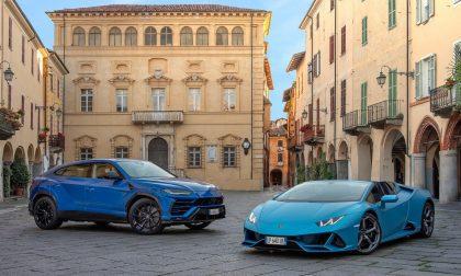 Biella scelta per la pubblicità Lamborghini