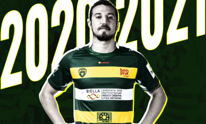 Biella Rugby, confermato l'utility back Luca Lancione