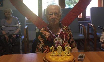 Ballerina podista compie 103 anni a Viverone