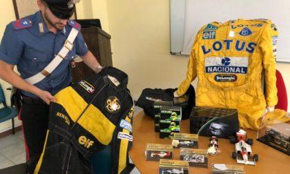 Tesoro di Ayrton Senna (rubato) ritrovato su una bancarella