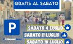 Domani parcheggi blu gratis in tutta Biella