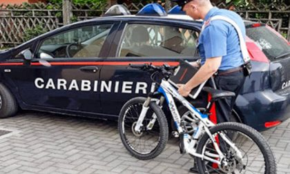 Preso il ladro di biciclette, recuperata preziosa mountain bike