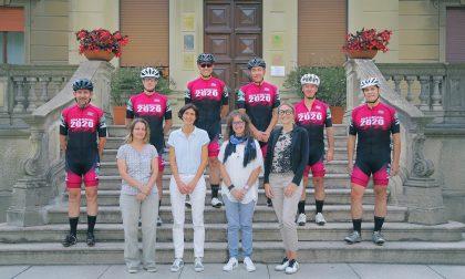 Biella-Barcellona in bici: rinviata l'impresa del sindaco Maggia e degli altri 5 cicloamatori biellesi