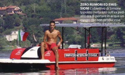 Il pedalò si trasforma in barca elettrica