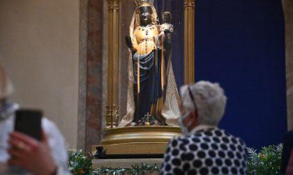 Santuario d'Oropa ha riaperto ai fedeli la Basilica Nuova FOTOGALLERY