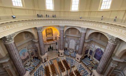 Oropa, le prime immagini in esclusiva della basilica restaurata-FOTOGALLERY