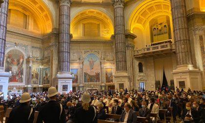 Basilica Oropa, in corso prima messa dopo quattro anni