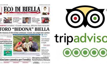 Tripadvisor, i 250 ristoranti biellesi al top su Eco di Biella