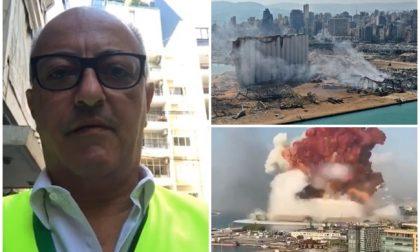 Il biellese Marco Perini, manager di Avsi, in prima linea tra le macerie di Beirut