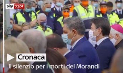 Ponte Genova, un minuto di silenzio per le vittime alle 11.36
