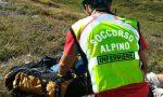 Escursionista recuperato all'Alpe Bonom