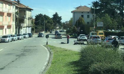 Scooter contro auto a Chiavazza. Ragazzina in ospedale
