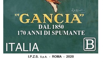Poste dedica francobollo alla storica casa di spumante Gancia