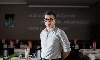 Subito assunto in un ristorante, Lorenzo Bisella diventa testimonial Enaip