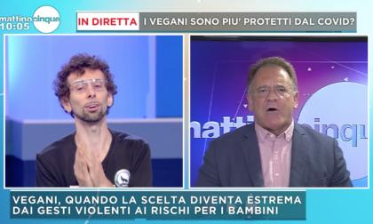 Vassallo contro Cecchi Paone, scontro a Mattino Cinque sulla dieta vegana