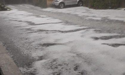 Maltempo, violenta grandinata e danni a Brusnengo VIDEO