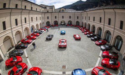 """Raduno Ferrari, con il """"Targa Santo Stefano"""" promosso il territorio-fotogallery"""