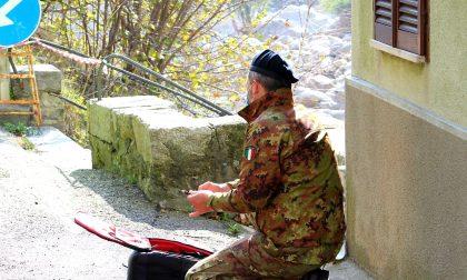 Alluvione, droni militari documentano i danni in valle Cervo