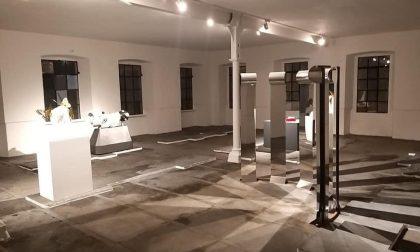 """Al posto del Lanificio Pria ora c'è la """"galleria degli artisti""""- FOTOGALLERY"""