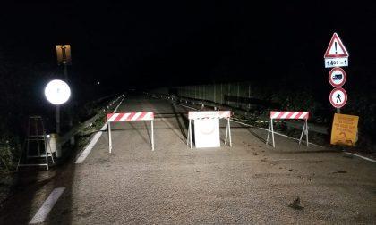 Maltempo: piloni a rischio, chiuso il ponte di Pistolesa
