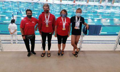 Sport Club Pralino sul tetto d'Europa ai Master di nuoto pinnato