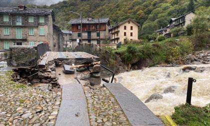 """""""Hydro crollato come un castello di carta"""", primo bilancio del Biellese martoriato dal maltempo"""