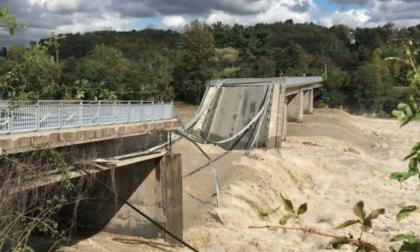Crollo ponte di Romagnano, l'alternativa provvisoria è quello della linea ferroviaria Santhià-Arona